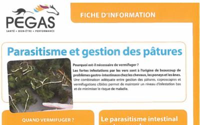 Parasitisme et gestion des pâtures